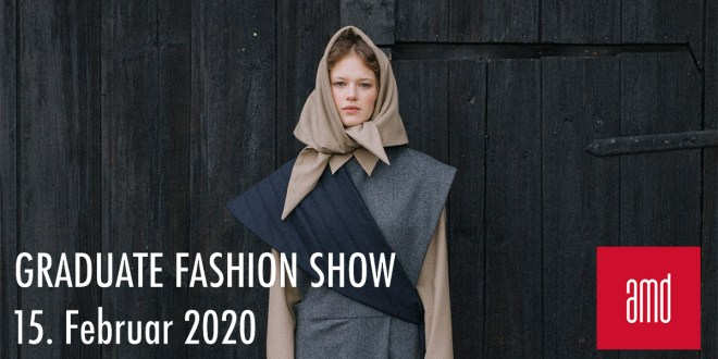 AMD Graduate Fashionshows in Berlin, Hamburg und Düsseldorf - save the date