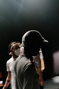 Danny Reinke Herbst Winter 2021 /22 - Backstage