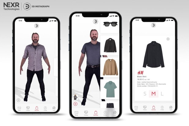 Virtual-Fitting App H&Mbeyond - NeXR Technologies SE