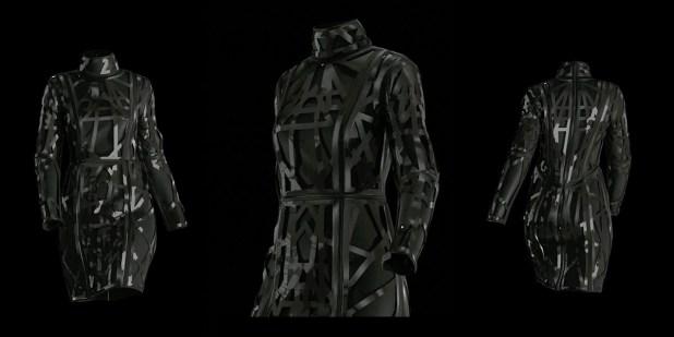 """ESTHER PERBANDT 3D-Fashion Show """"ASTRO NOIR"""""""