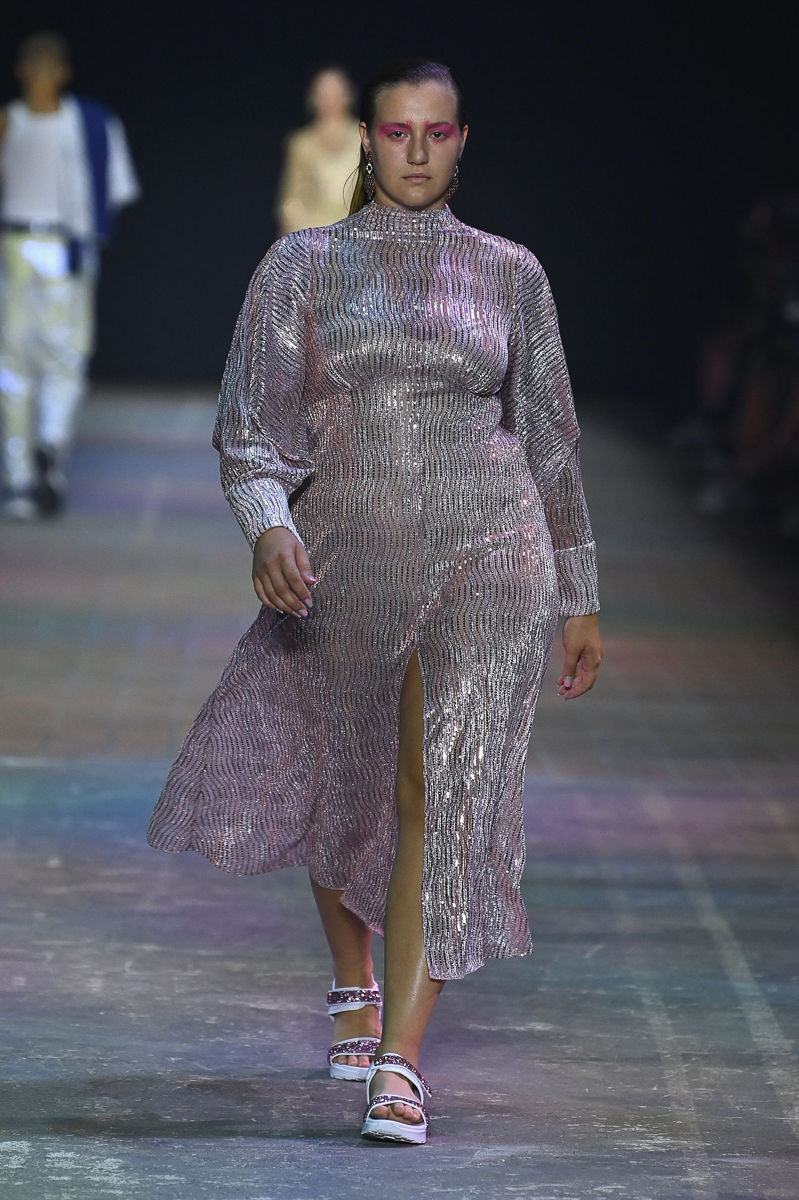 Dascha Carriero GNTM Kilian Kerner - Mercedes-Benz Fashion Week Berlin September 2021