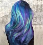 galaxy hair ideas 2017 trends