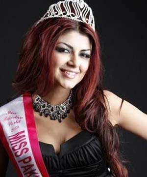 Pakistani Model Ayesha Gilani Miss Pakistan World