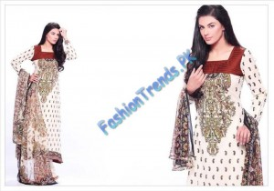 Warda Designer Summer Lawn Collection 2012