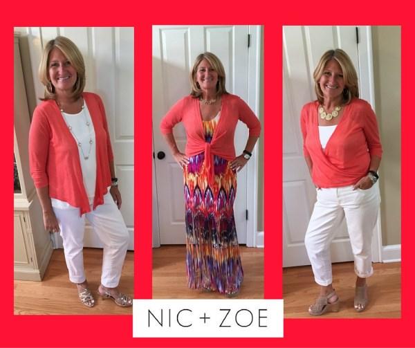Nic + Zoe 4-Way Cardigan