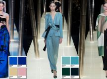 Armani Prive Spring 2015 Couture Collection Color Codes ...