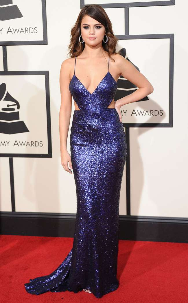 26 Sexiest Grammys Dresses Ever Selena Gomez  More