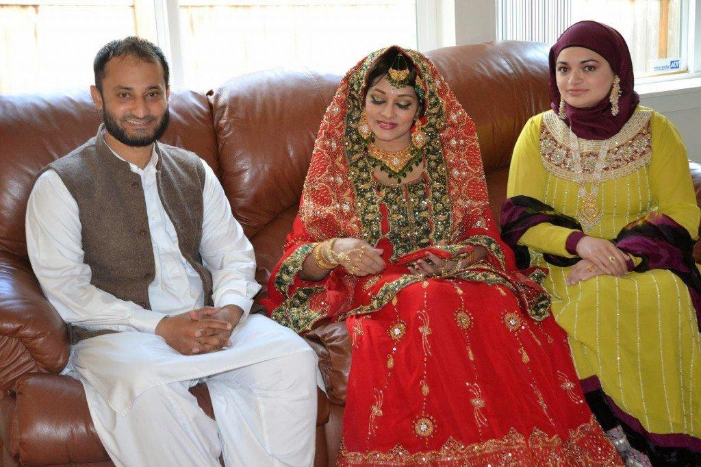 Pakistani Actress Bindiyas 3rd Wedding Pictures