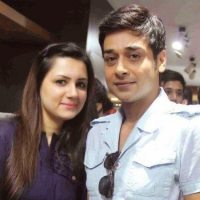 Faisal Qureshi with his wife