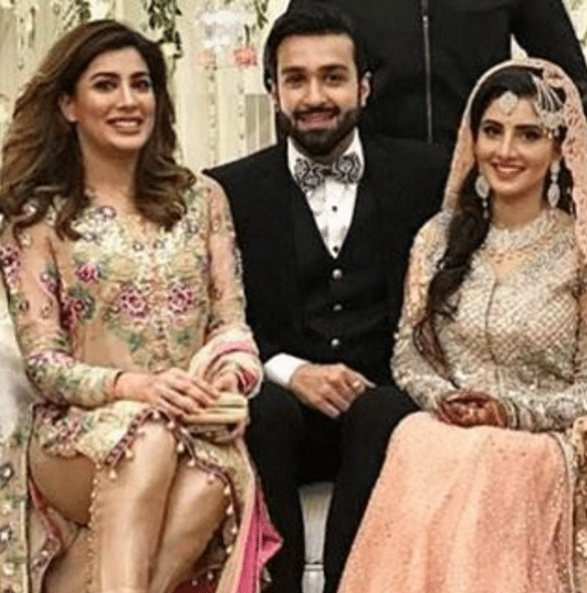 Mehwish Hayat at Azfar Rehman Wedding Reception