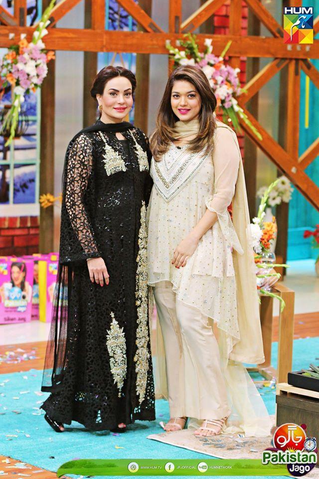 Sanam Jung is Back on Hum Tv Morning Show Jago Pakistan