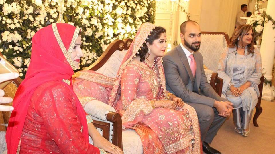 Walima Ceremony of Zain Umar Son of PTIs Leader Asad Umar  Pakistani Drama Celebrities
