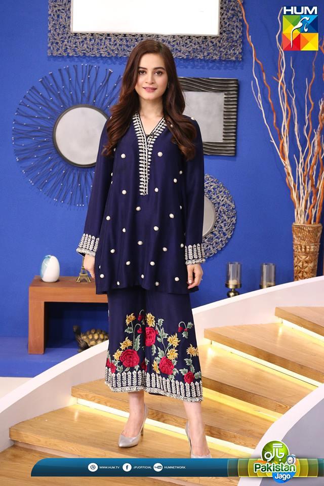Beautiful Kinza Hashmi  Aiman Khan in Sanam Jung Morning