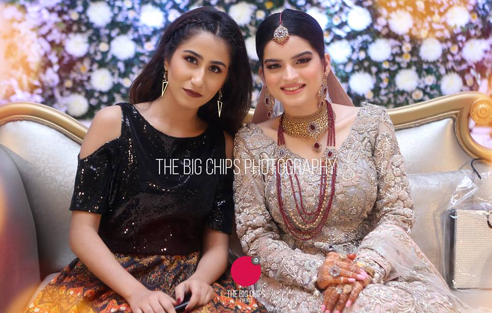 Beautiful Walima Reception Pictures of Syeda Alizey Raza