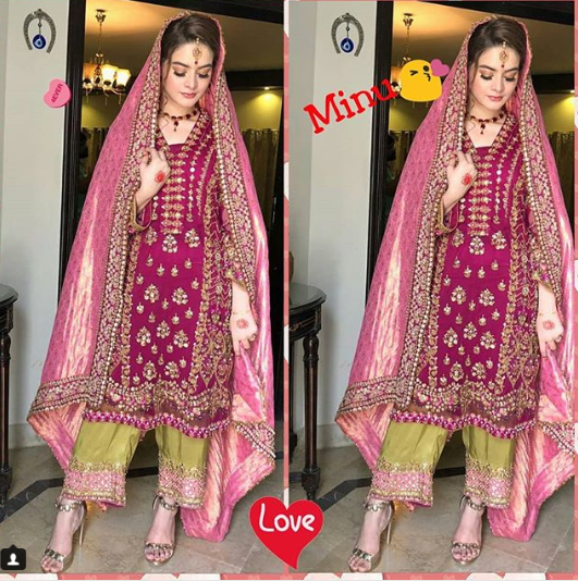 Beautiful Bridal Photoshoot Of Aiman Khan Amp Minal Khan