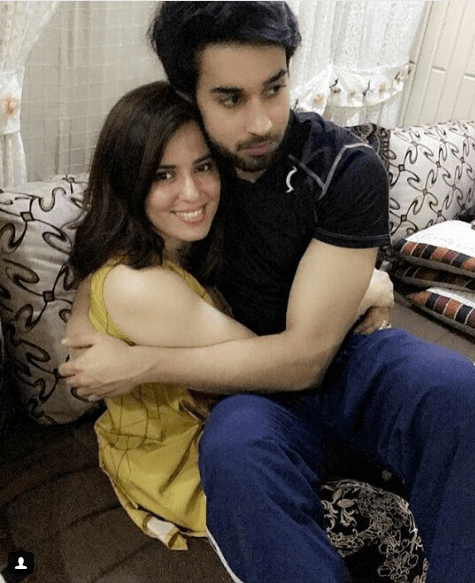 Beautiful Clicks Of Bilal Abbas With Her Sister Sana Tauseef Pakistani Drama Celebrities