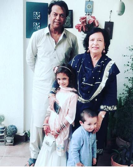 Fahad Mustafa With His Wife And Kids On Eid Pakistani Drama Celebrities