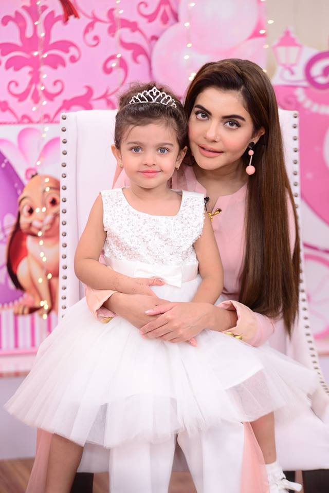Sadia Imam Daughter Meerab Birthday in Nida Yasir Morning