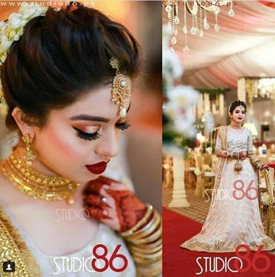 Beautiful Arisha Razi at her Sister Sarah Wedding