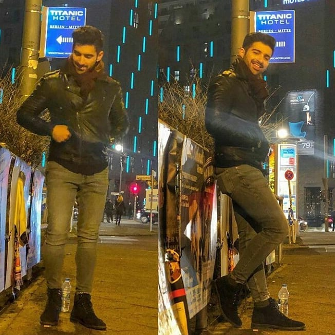 Aiman and Muneeb Enjoying Honeymoon in Berlin Germany