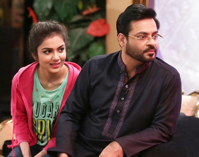 Latest Clicks of Amir Liaquat with his 2nd Wife Syeda Tuba