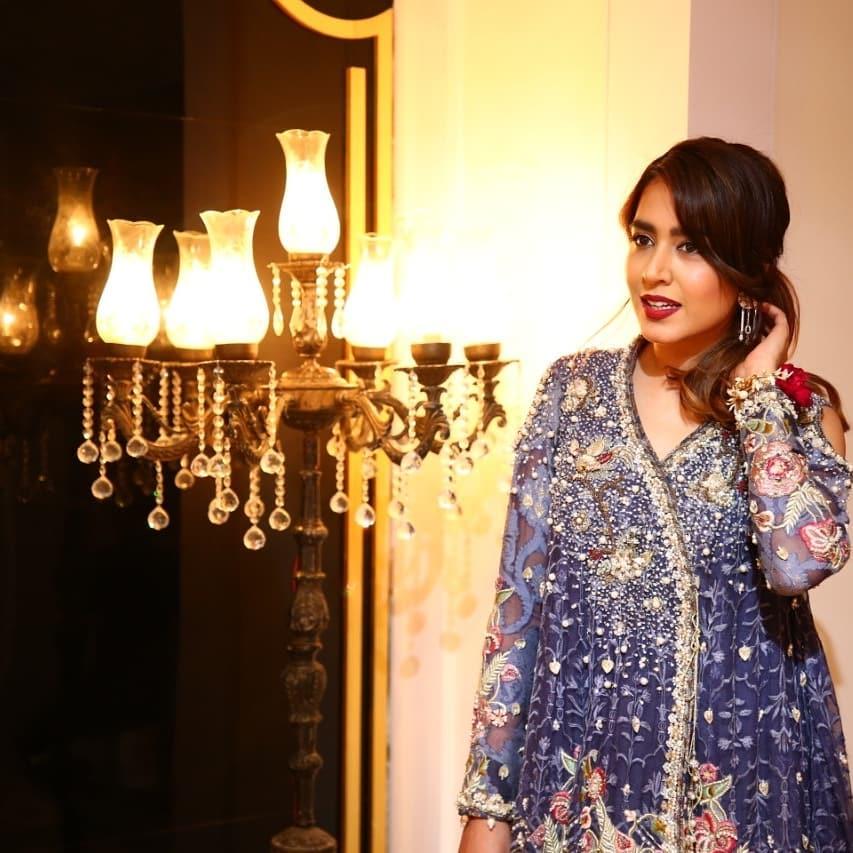 Awesome Wedding Photos of Famous Comedian Faiza Saleem