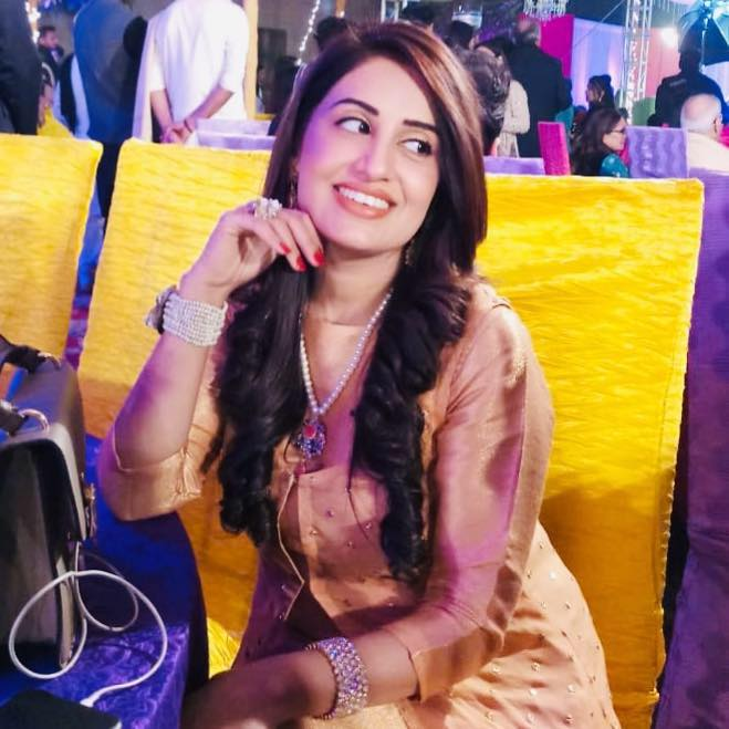 Farah Yousaf - 2nd Wife of Iqrar ul Hassan Celebrating her Birthday