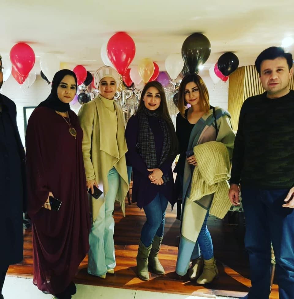 Famous Celebs Jana Malik Noor and Reema Khan in Birthday Party