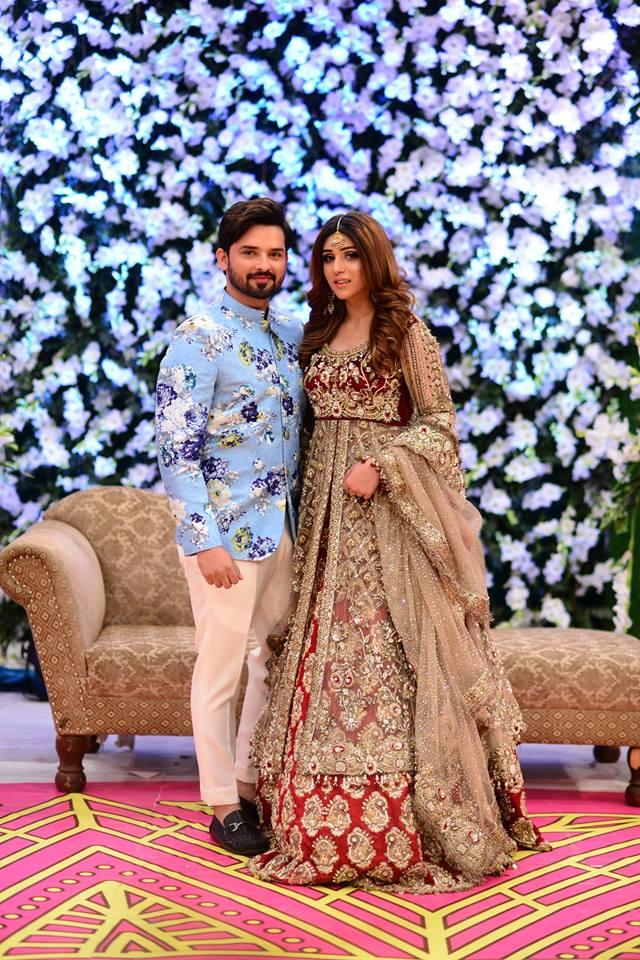 Noman Habib and his Wife Asma Wedding Event in Nida Yasir
