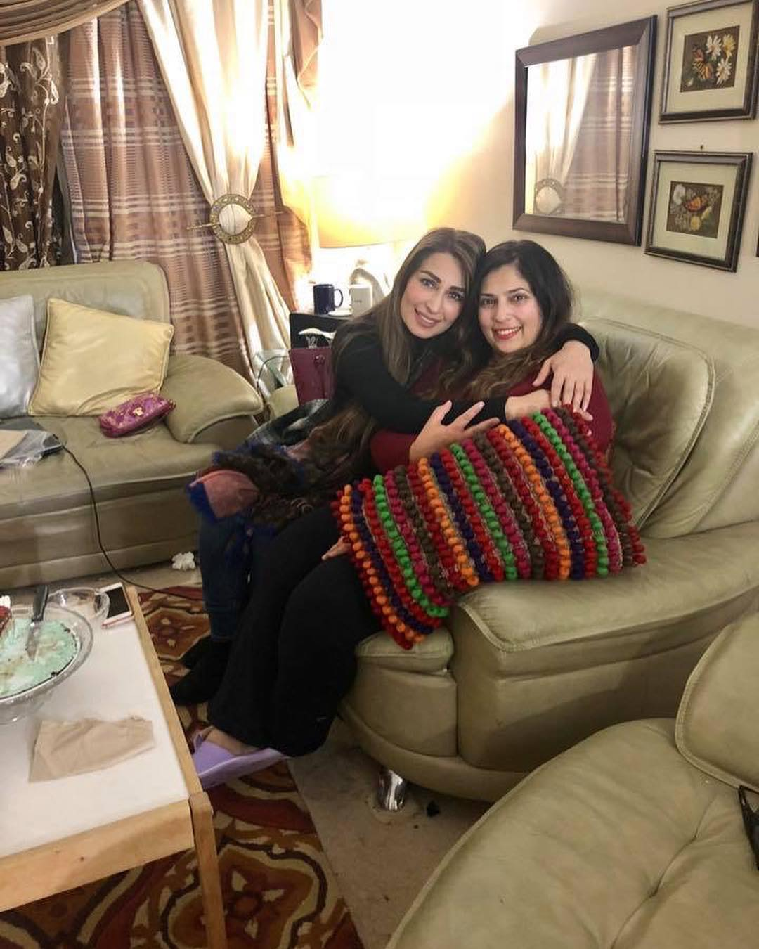Reema with her Husband in USA - Check Photos of Both with Friends