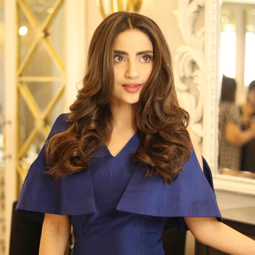 Latest Beautiful Clicks of Saboor Aly  Pakistani Drama