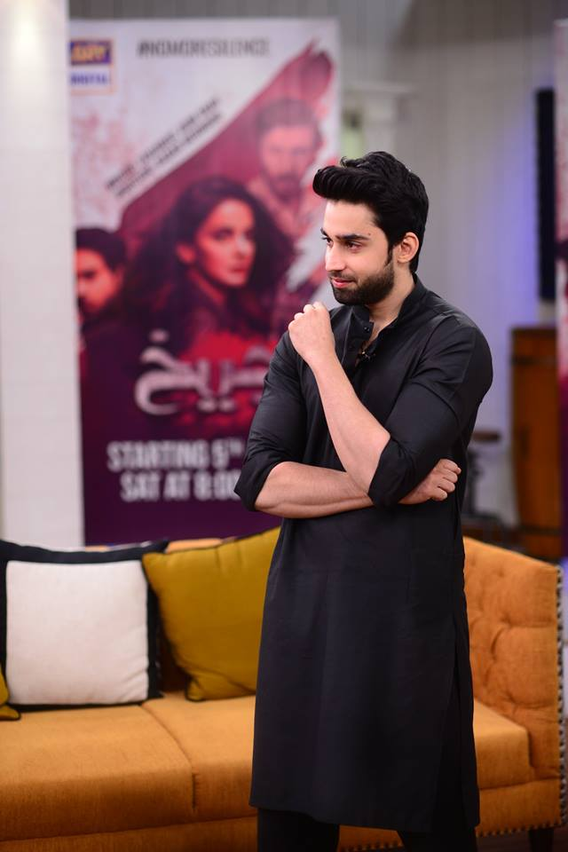 Saba Qamar And Bilal Abbas In Nida Yasir Morning Show Pakistani Drama Celebrities