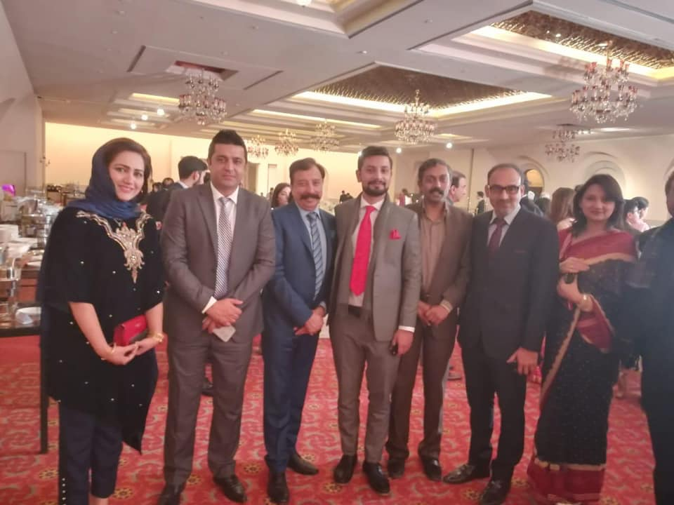 Popular Political and Military Personalities Attended Famous Anchor Hamid Mir Son Wedding Reception
