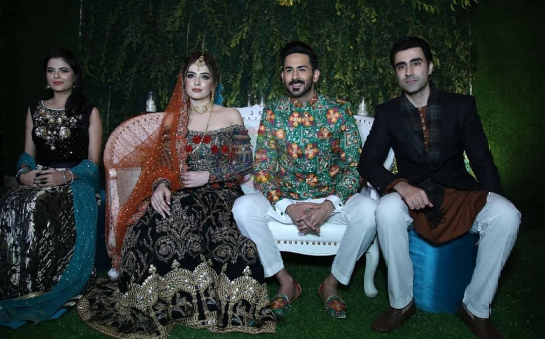 Beautiful Clicks of Actor Shan Baig Mehndi Event  Pakistani Drama Celebrities