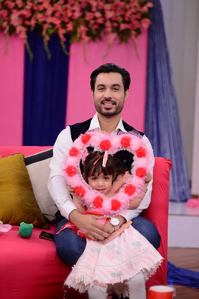 Celebrities with theirCute Kids in Nida Yasir Morning Show