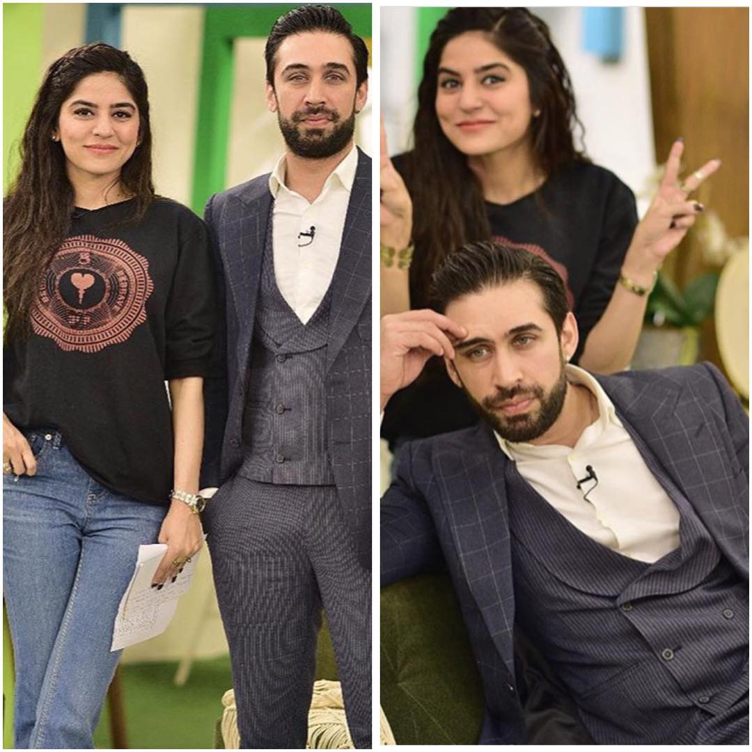 Latest Beautiful Pictures of Sanam Baloch on the Set of