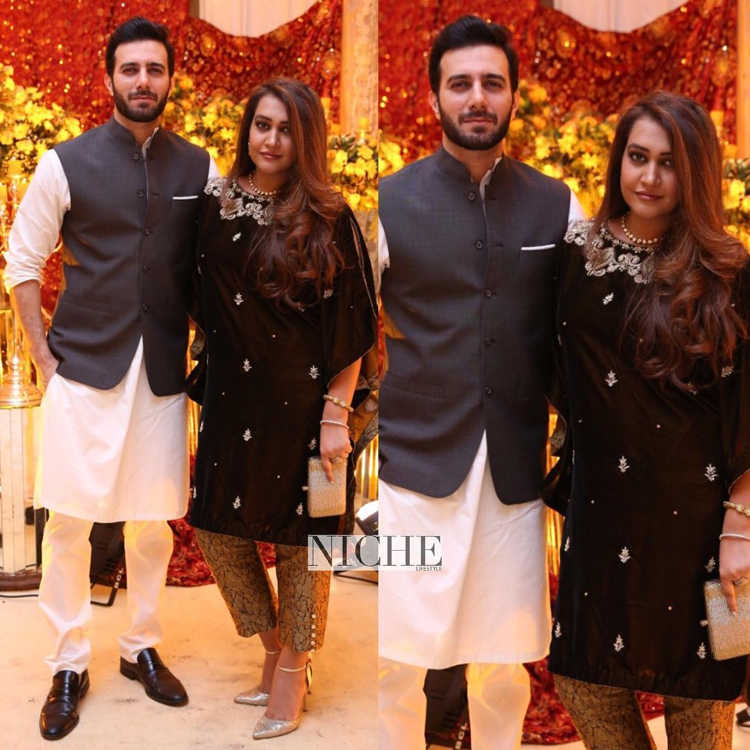Beautiful Clicks Of Actor Emmad Irfani With His Wife