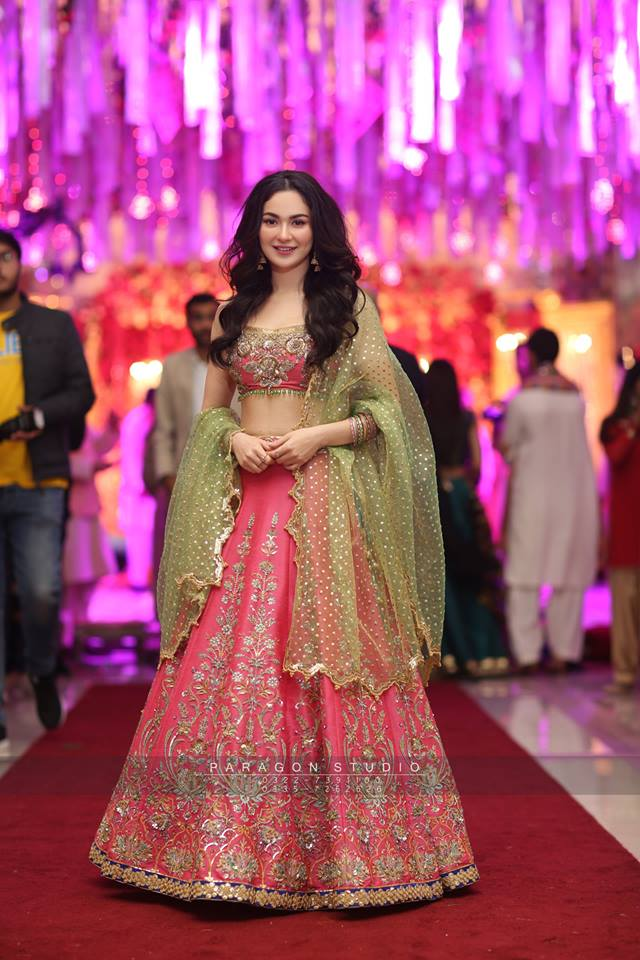 Hania Amir And Asim Azhar At A Wedding Event In Lahore Pakistani Drama Celebrities