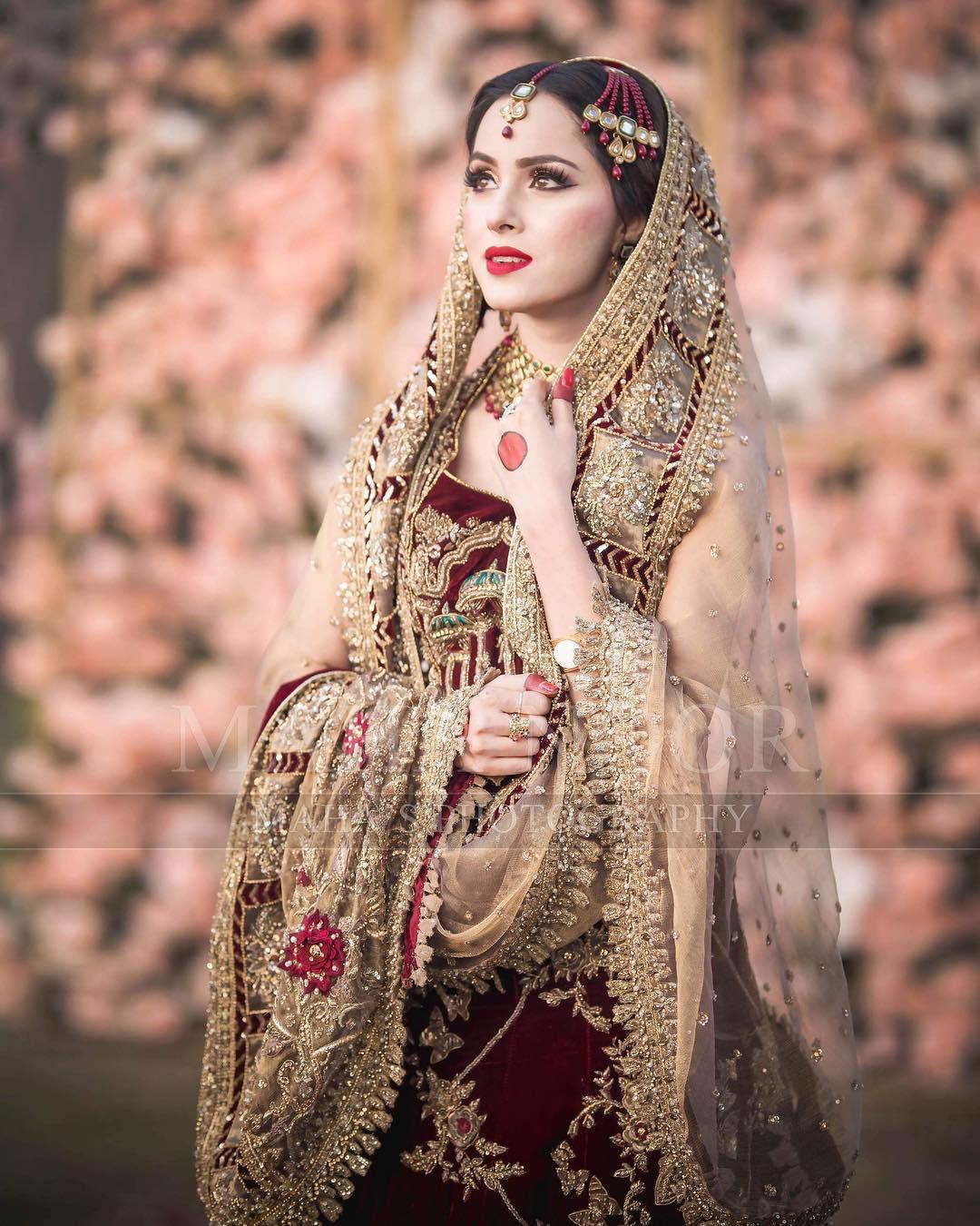 Beautiful Bridal Photoshoot Of Nimra Khan Pakistani