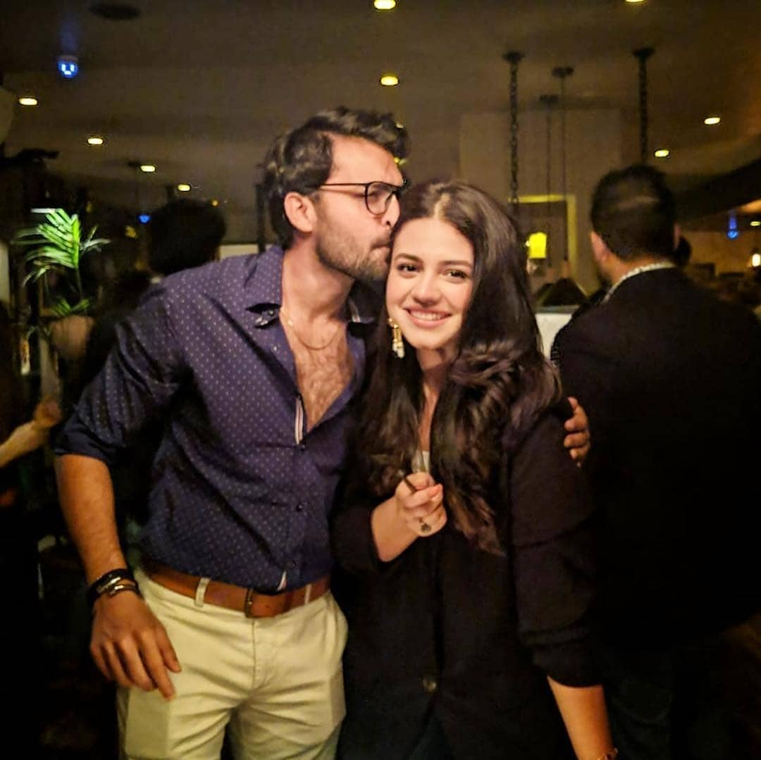 Asad Siddique Celebrating Birthday With His Friends And Family Pakistani Drama Celebrities