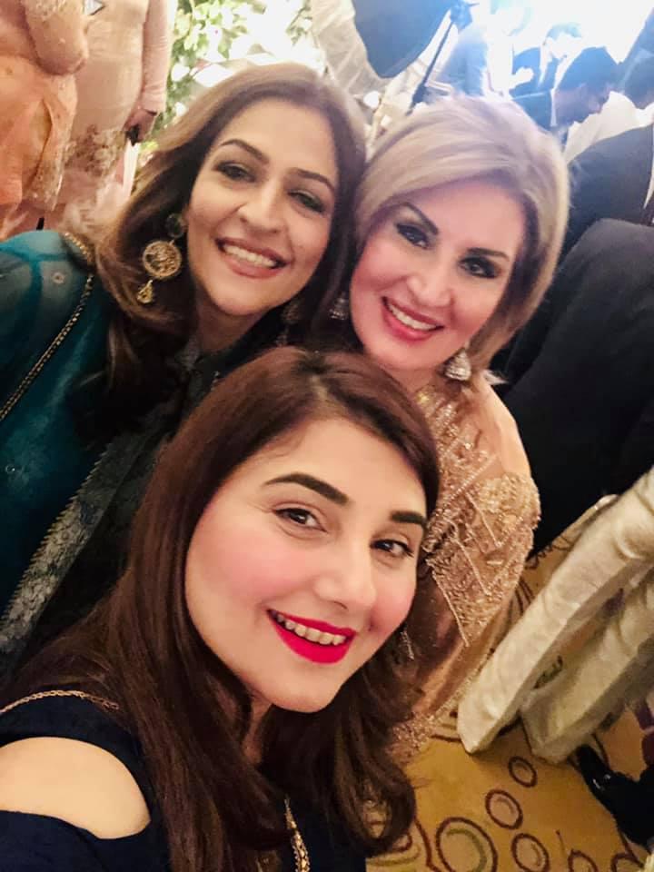 Beautiful Javeria Saud At A Wedding Event Pakistani