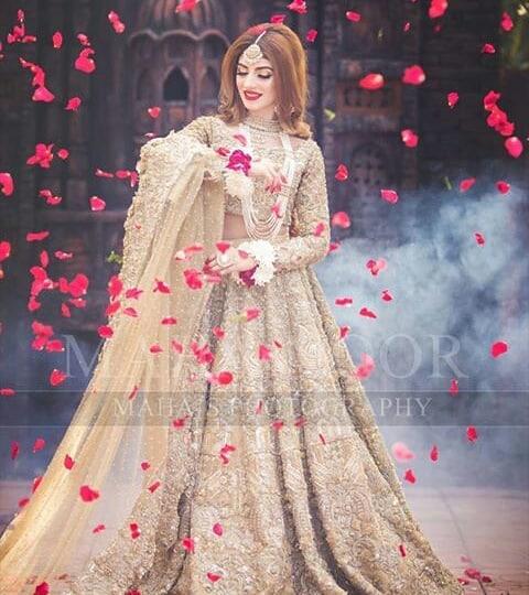 Kinza Hashmi Looking Gorgeous in her Latest Bridal Photoshoot  Pakistani Drama Celebrities