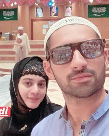 Latest Beautiful Clicks Of Aiman And Muneeb In Makkah Pakistani Drama Celebrities