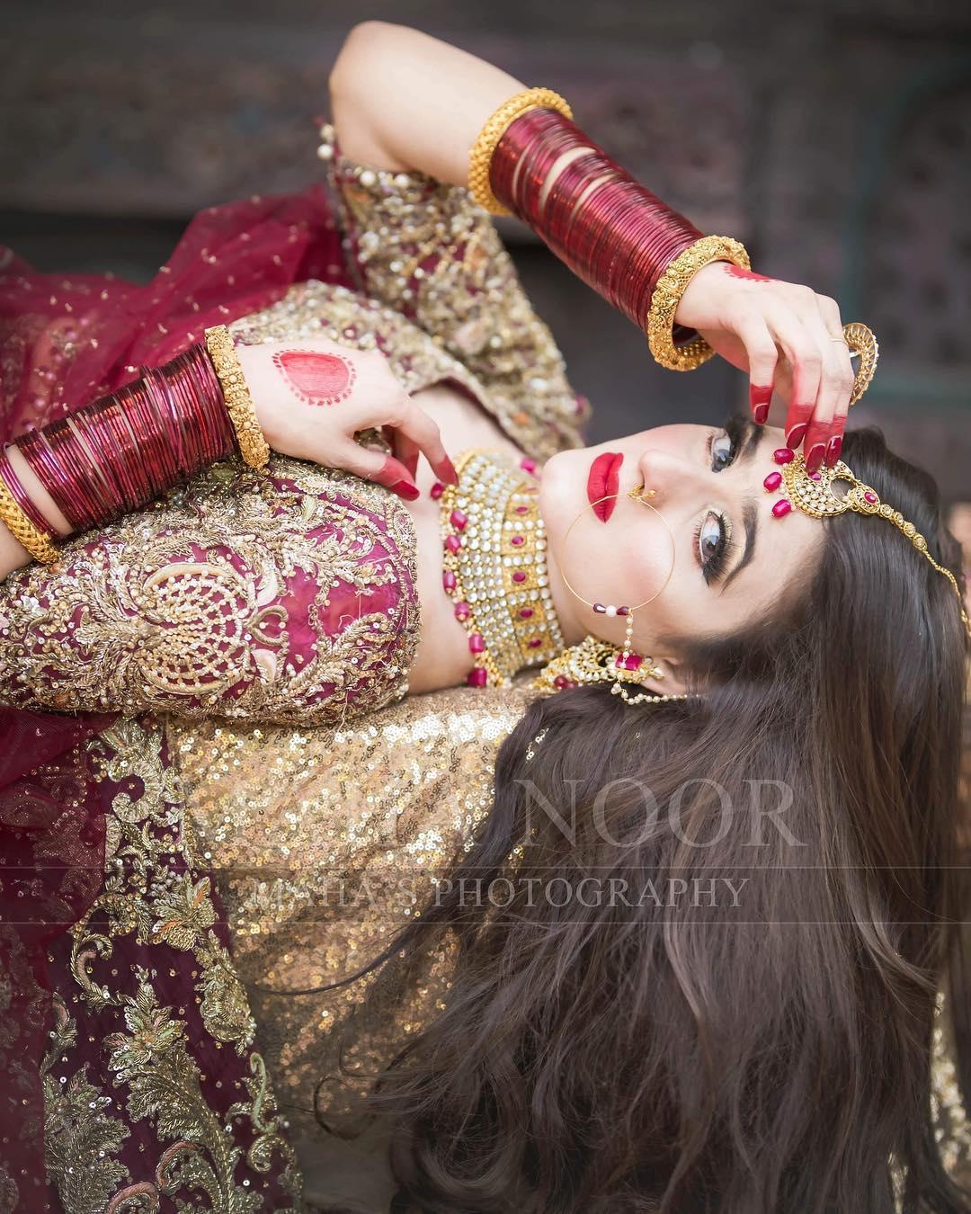 Beautiful Latest Bridal Photoshoot of Hira Mani  Pakistani Drama Celebrities