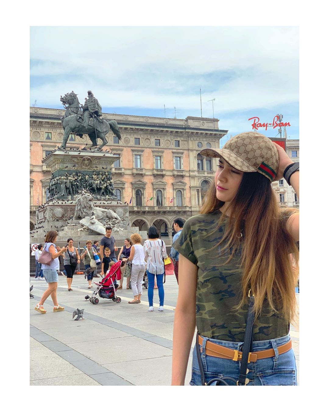 Latest Clicks Of Aima Baig And Hania Amir In Dubai