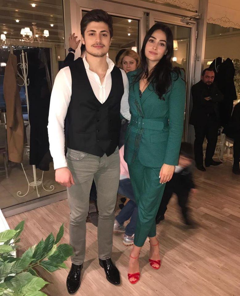 Famous Halima Sultan Esra Bilgic With Her Brother Ali