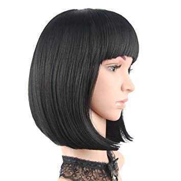 4 Durable Bob Bangs Fringes Wigs Available In Amazon