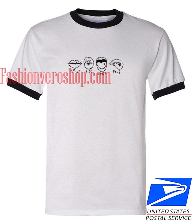 Smile Kiss Laugh Out Shirt