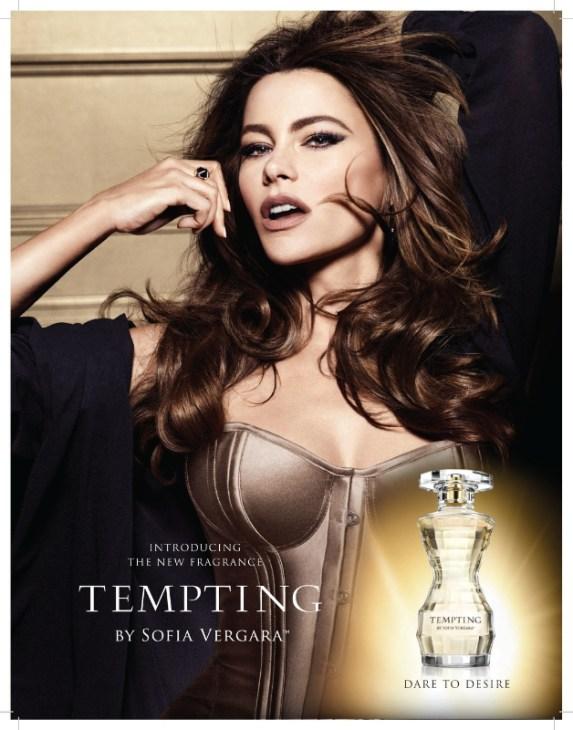 Tempting by Sofia Vergara Ad Campaign Image (PRNewsFoto/Perfumania Holdings, Inc.)