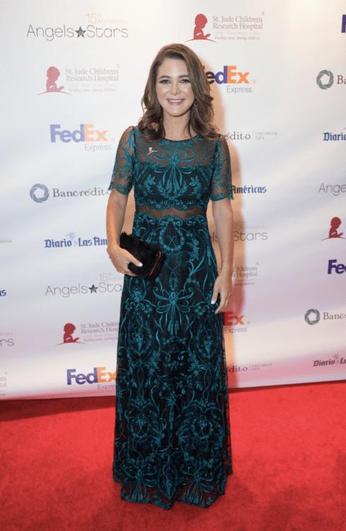 Adriana Castro en la Gala St Jude